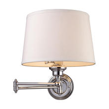 ELK Lighting 11210/1 - Westbrook 1 Light Swingarm Sconce In Polished Ch