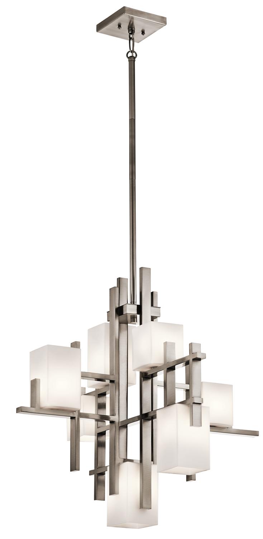 Chandelier 7lt halogen lfvrg candlelight log chandelier 7lt halogen mozeypictures Images