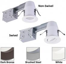 American Lighting EP3-RE-30-WH - 3-Inch E-Pro White LED Recessed Down Light Remodel