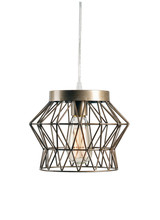 Kenroy Home 93853SIL - Thaxton 1 Light Swag Pendant