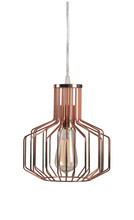 Kenroy Home 93878COP - Irena 1 Light Swag Pendant