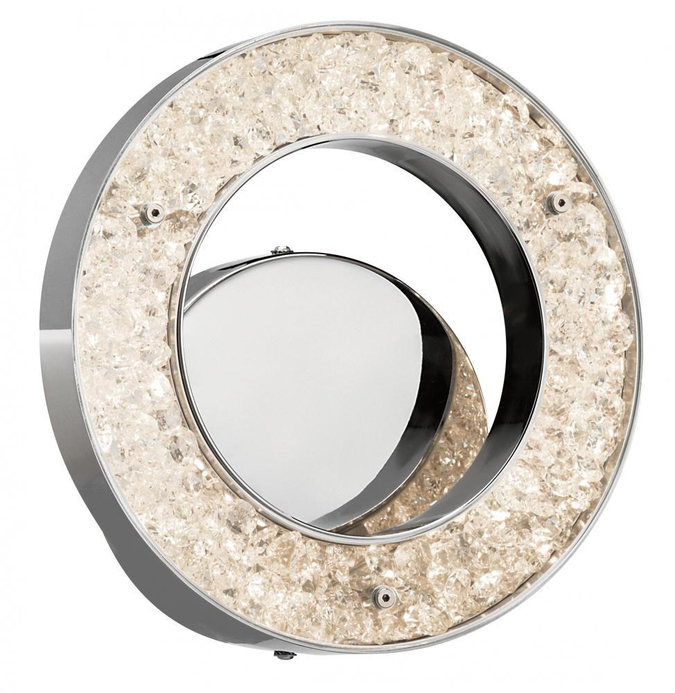 Warm White Led 1 (Light) Circular Sconce