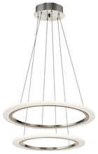 Elan 83670 - 2 Ring Led Pendant