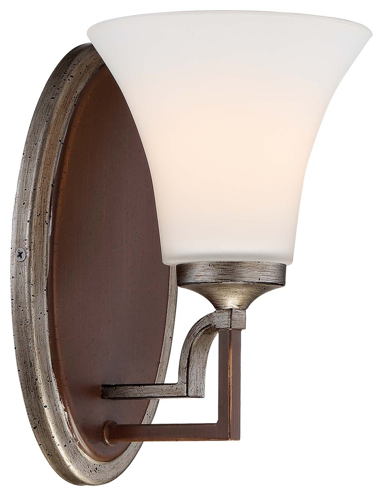 Astrapia Candle Damp Bath Vanity Fixture Dark Rubbed Sienna 2 Light Minka Lavery Wall Sconce Lighting 4342-593